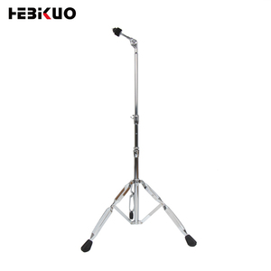 Chrome plated display drum ride cymbals stand
