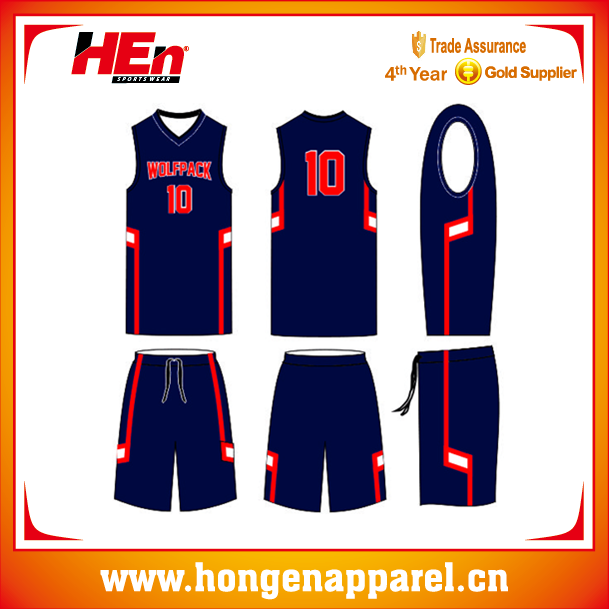 Authentic Best Quality Basketball Jersey, Boys Basketball Wear