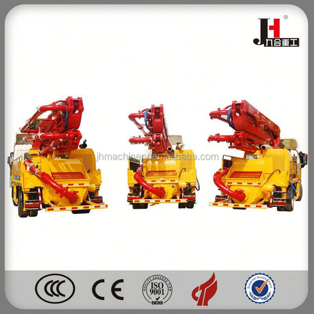 2014 Concrete Boom Pump Truck With Low Price