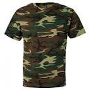 Men's cotton camou T- shirt