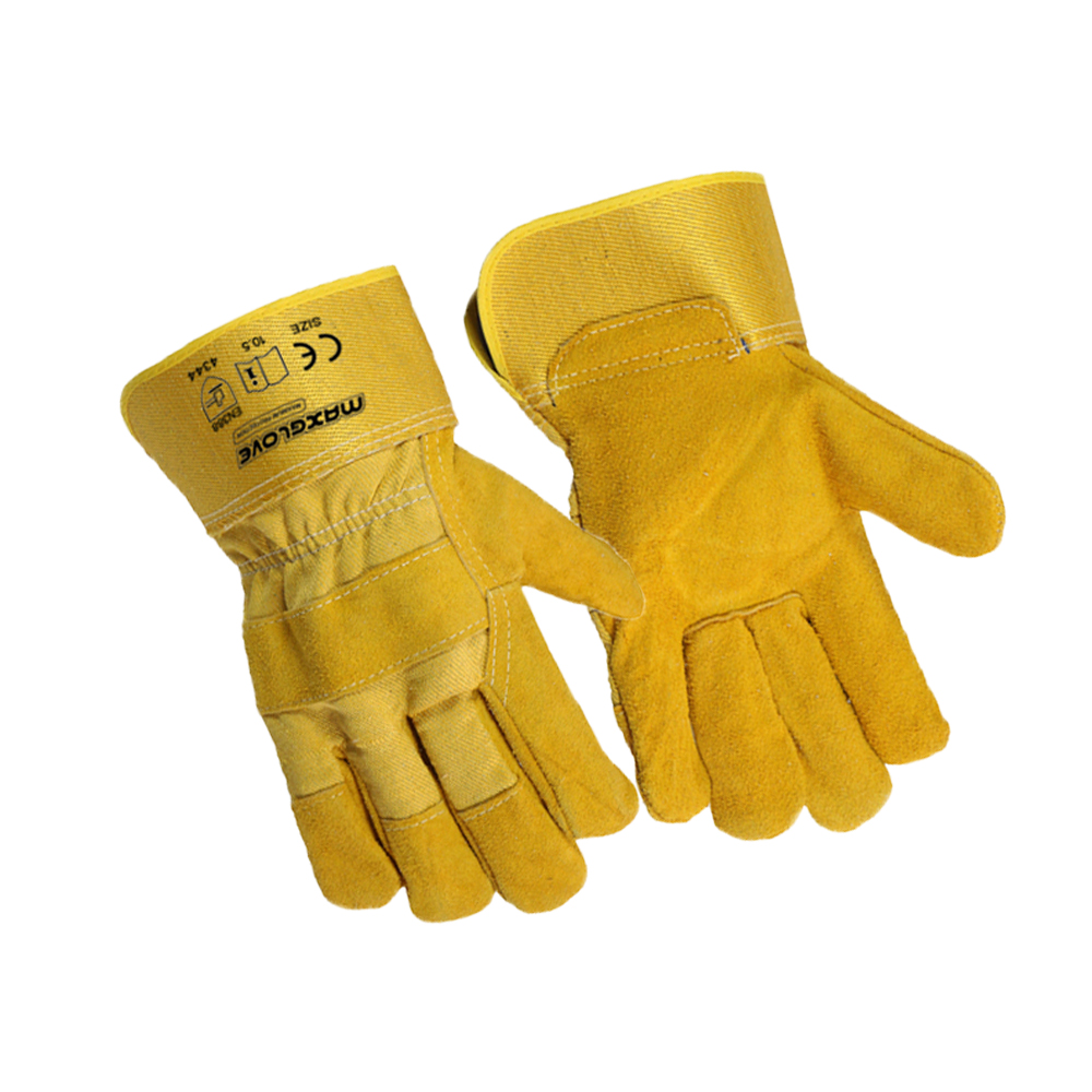 On sale 11.5 inch leather hand gloves for work
