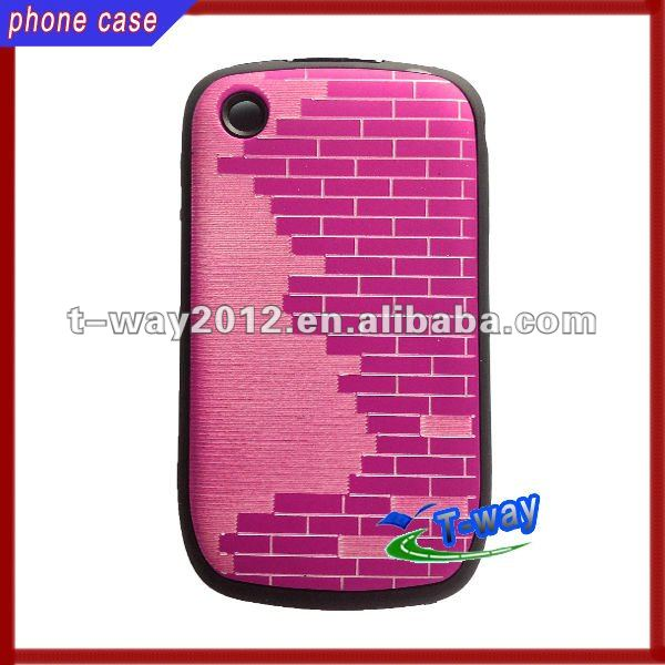Mobile phone for blackberry plastic plain phone case