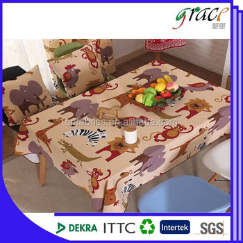 Thick Roll Plastic Table Cover For Dining