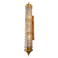 Wholesale Moroccan style antique brass mosque outdoor lamp restaurant decoration wall light