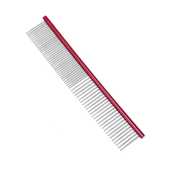 Best Metal Pet Dog Hair Flea Comb,Cheap Dog Stainless steel Pet Grooming Lice Comb for Dogs