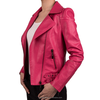Professional Oem Factory Support Pu leather jacket Coat For Women