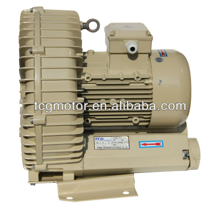 5HP High Presure Blower for Electric Welding Equipment Film Machinery