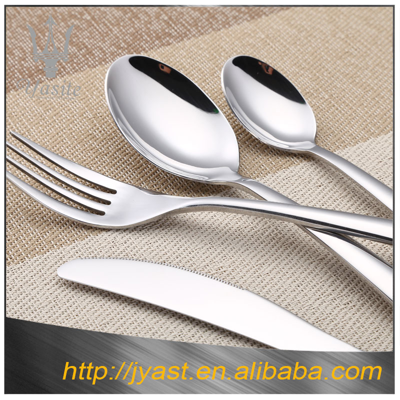 Chinese factory supply wholesale high quality silver staineless steel cutlery tray
