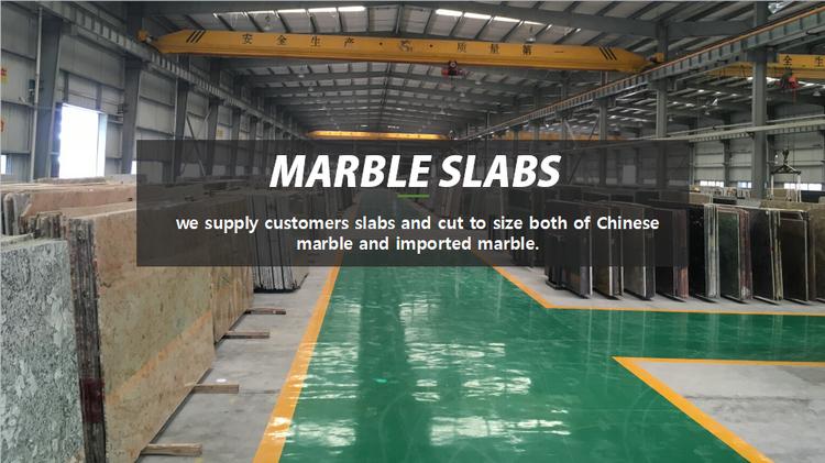 卸売格安工場製造中国コロンビア白大理石黒静脈大理石スラブ価格