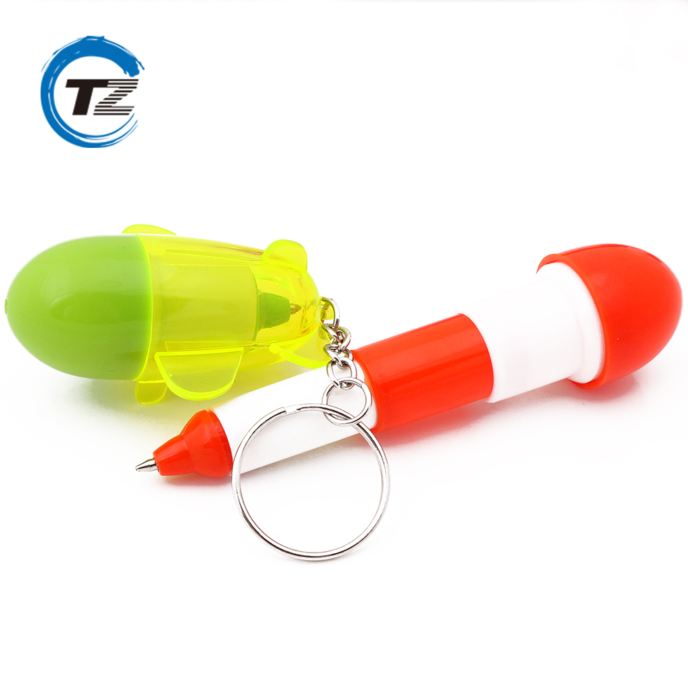 School stationery office supplies funny cartoon capsule shape ball pen