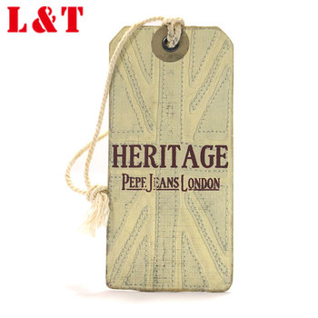 Famous Brands Kraft Jeans Hang Tags