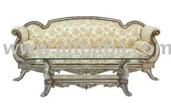 Ornate Sofa Leather