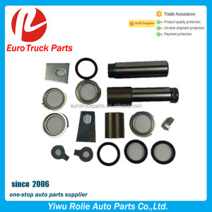 OEM 81502120036 Heavy Duty European Truck Brake System Repair Kits MAN F2000 Trailer Brake Shoes Kin Ping Sets