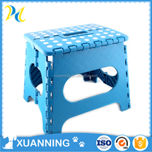 new design plastic folding travel stool with handle plastic kids stool custom injection mold of plastic stool