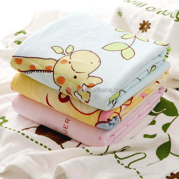 EAswet China Factory Price Bamboo Fibre Baby Thermal Crib Blanket