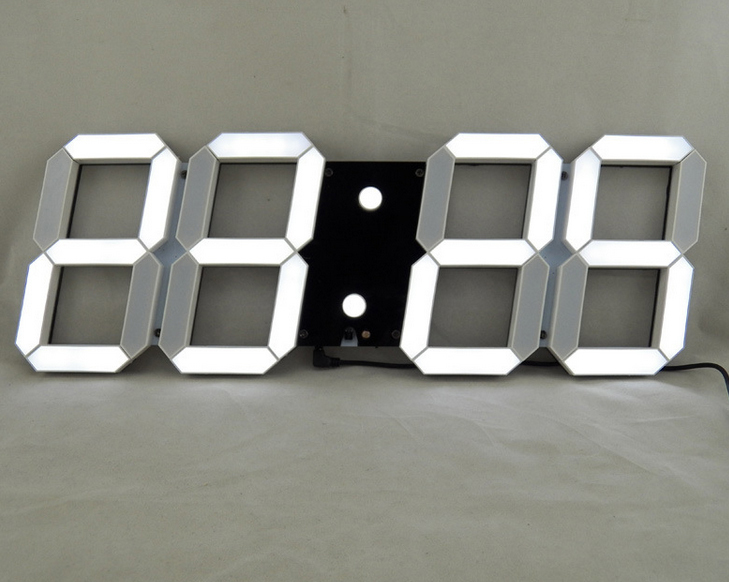 Horloge Murale Digitale Led