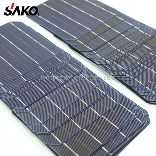 5BB 3BB 4BB High Efficiency 4.5W-4.6W A Grade Cheap156X156 Monocrystalline Solar Cell For Sale