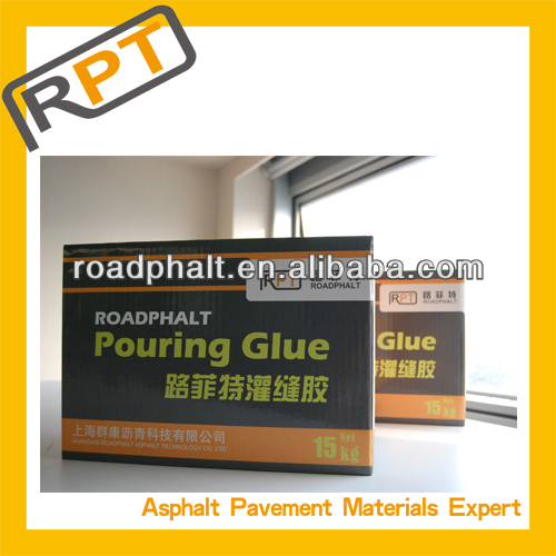 Roadphalt asphaltic concrete crack sealant