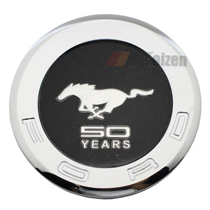 Pony Horse 50 Years Decklid Rear Emblem For Ford Mustang