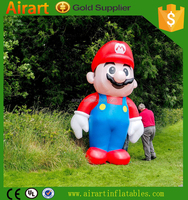 party decorations inflatable super mario character