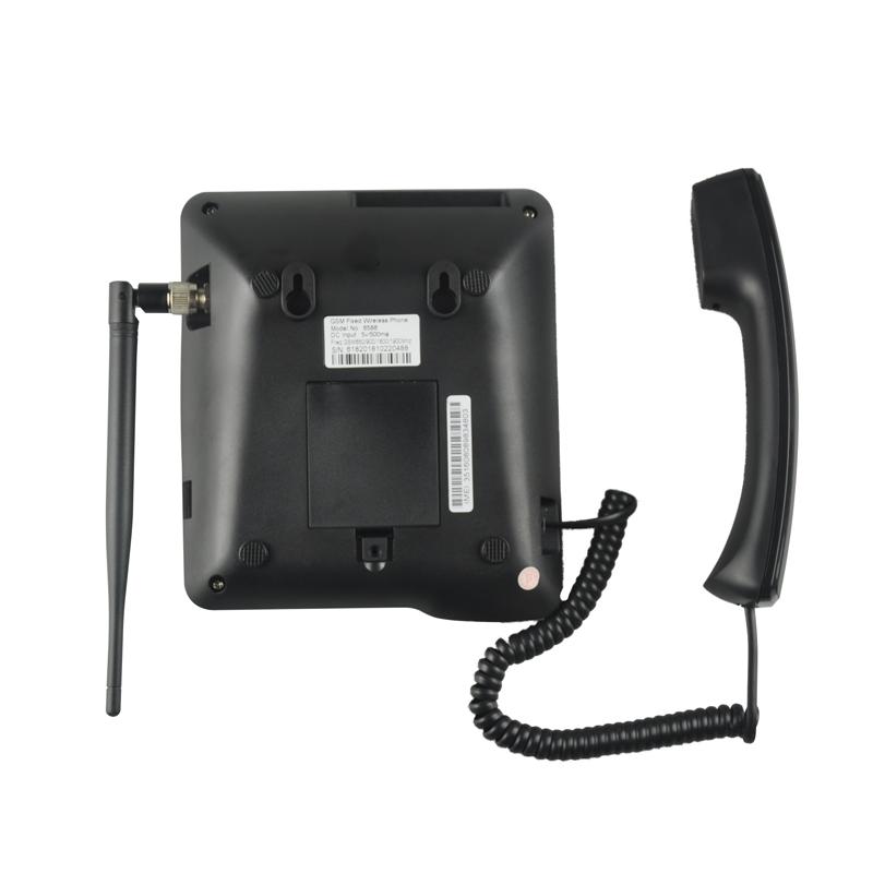 stock! dual sim card gsm fixed wireless desktop phone telephone