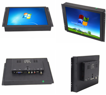 Polegada 10 Open Frame Infravermelho Capacitiva Touchscreen Lcd Touch Screen Monitor VGA USB