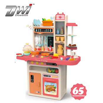 DWI Wholesale Cooking Games Pretend Toys Kids Kitchen Play Set Toy for Girls