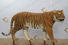 2016 Life size simulation tiger animal statues