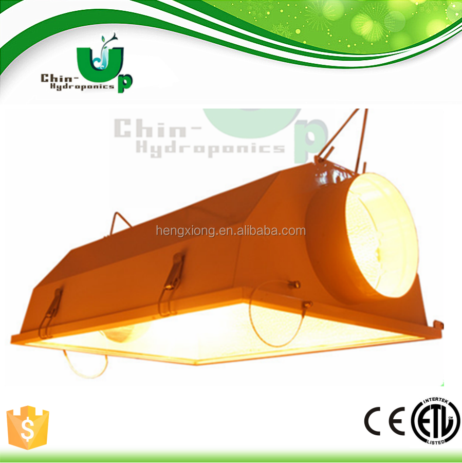 hydroponics 1000w 600w 400w plant lights / hid lamp air cooled reflector fixture for indoor gardening