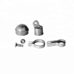"Chain Link Fence Accessories / 2-3/8"" CORNER POST KIT / Chain Link Fence Fittings"