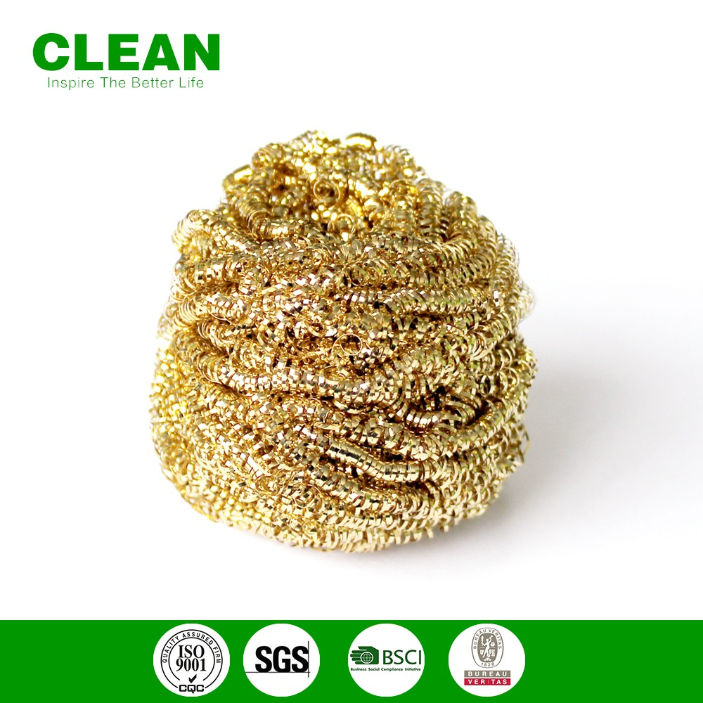 high quality copper scourer /spiral brass scourer/stainless steel scourer