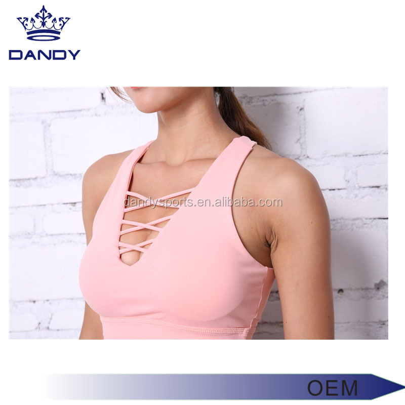 Hot sale custom fitness wear sexy ladies wholesale yoga wear / Gym sports running girls slim tops women yoga wear