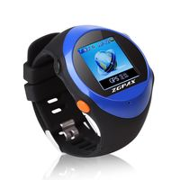 Mini GPS Tracker Watch For Kids Elderly A-GPS Locator SOS Emergency Push Smart Mobile App Support mp3/mp4 player