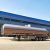 Saudi Arabia 56000 liters glossy fuel tank semi trailer manufacturer