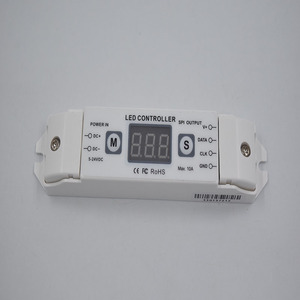 New Design RF Wireless DC5V~24V Small Size 8Keys 33 Kinds of Modes LED Pixel Light Controller