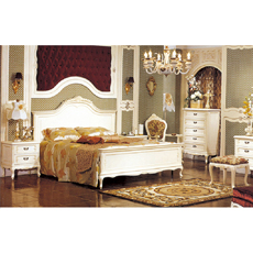 Factory price MDF express inn bed room furniture set luxury hotel queen bed
