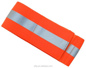 High quality safety reflective elastic Arm band/Ankle strap