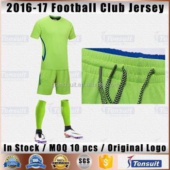 7adb2560d Unisex good quality football uniforms china manufacturers thailand soccer  wear youth training set uniforms football