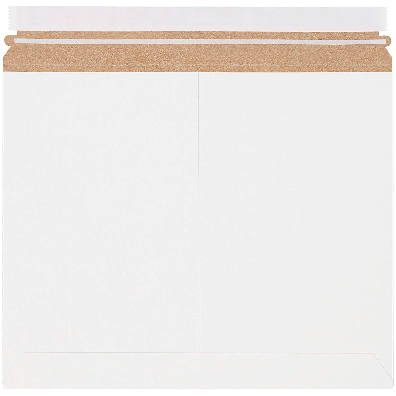 "Boxes Fast BFRMU1311W Utility White Flat Mailers, 13 1/2"" x 11"", White (Pack of 200)"