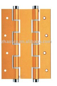 Double aluminum spring hinge for doors