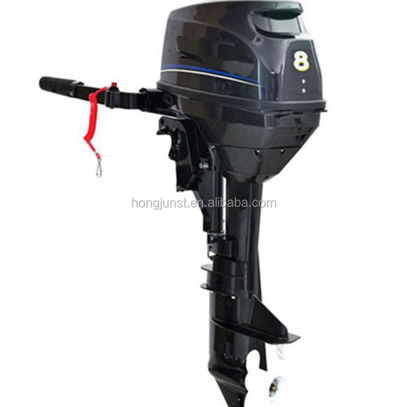 2 Stroke 8hp Short Shaft outboard motor For Flatable Boat