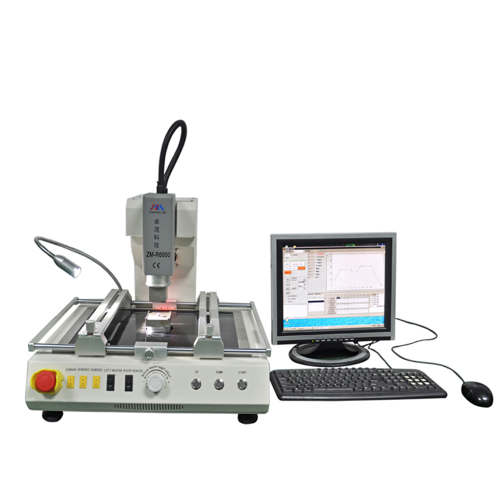 bga chip desoldering and soldering machine zm-r6000 zhuomao orignal factory
