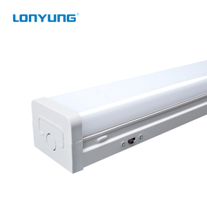 Patent ETL DLC detachable integrated Led tube , Linkable led strip light 20-60W sensor/0-10V dimming linear integrated tube