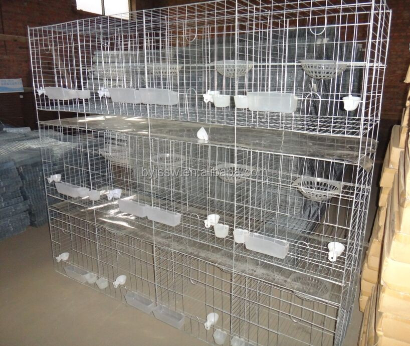 New Design Poultry Farm Wire Mesh Pigeon Breeding Cage