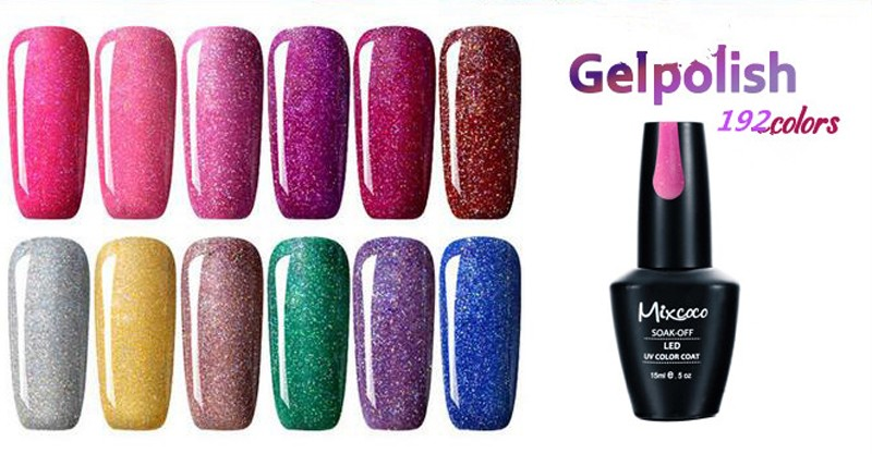 Private Label Gel Polish 192 Colors Magic Gel Nail Polish In Uv Gel ...