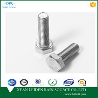 m16 stainless steel hex bolt and nut din933 din931