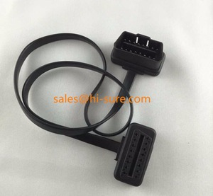 OBD2 extension cable, OBD Male to Female Extension Flat cable for OBD scanner