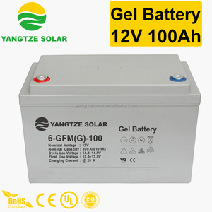 Top sale 12v 100ah gel battery for electric tricycle