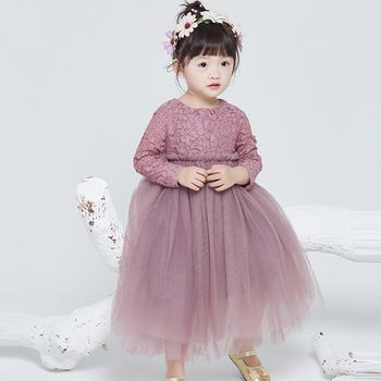 2016 new design flower girl one piece designer wedding fashion children  party dress for baby girls 2bb91f637