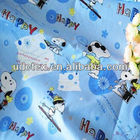 100% cotton cartoon printed fabric for home textile